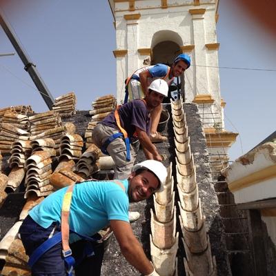 Rehabilitación cubierta iglesia ( Valencina de la Concepción)