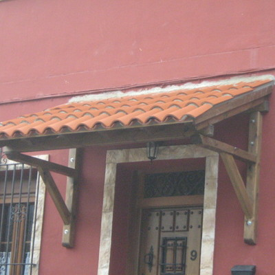 Colocación de teja árabe