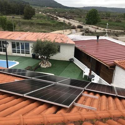 Instalación fotovoltaica en Chiloeches