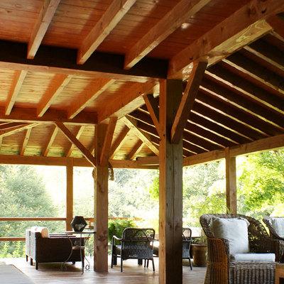 Pergolas, cenadores y tejados en madera