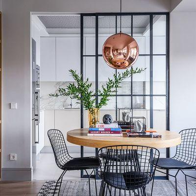 Tendencias decorativas espacios diáfanos
