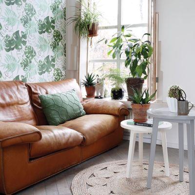 Tendencias decorativas, papel pintado motivos vegetales