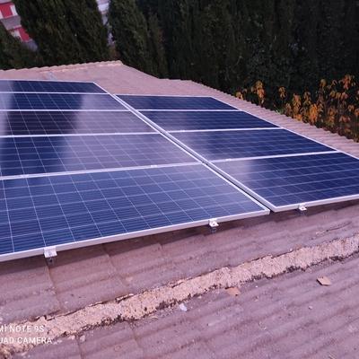 Instalacion fotovoltaica en campillo