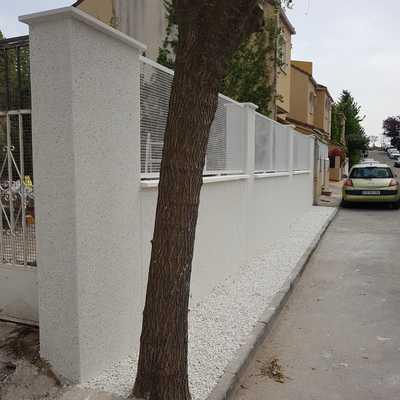 Nueva valla chalet