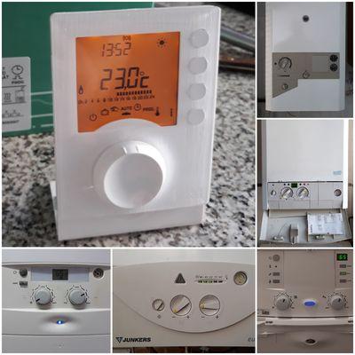 Termostatos de ambiente para calderas a gas Junkers