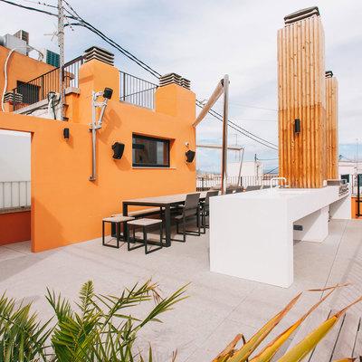 Ático con decoración moderna en Valencia