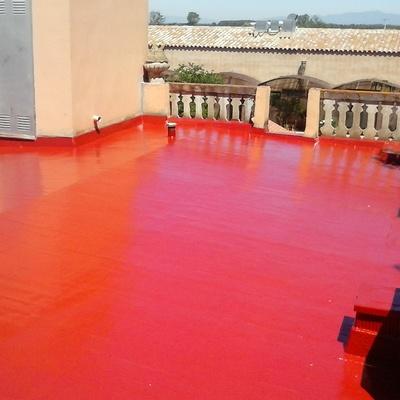 Impermeabilización terrazas con filtraciones