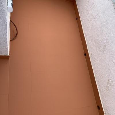 Impermeabilización terraza con filtraciones