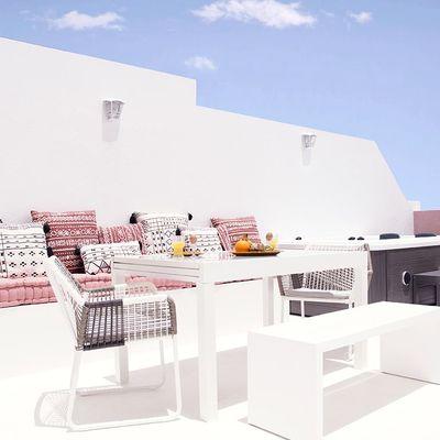 Cómo organizar tu patio o terraza con estilo
