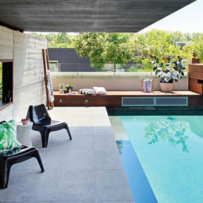 Ideas y fotos de terraza y jard n de estilo minimalista for Ikea piscinas hinchables