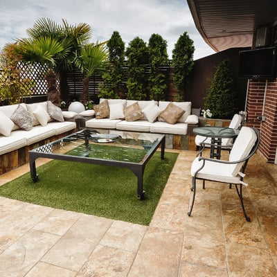Un espacio ideal para disfrutar de la terraza todo el año