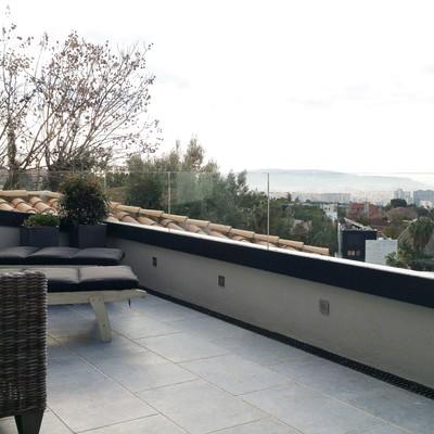 Terraza en planta superior