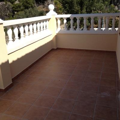 Reforma de terraza exterior