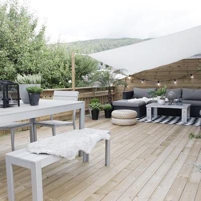 terraza guirnaldas