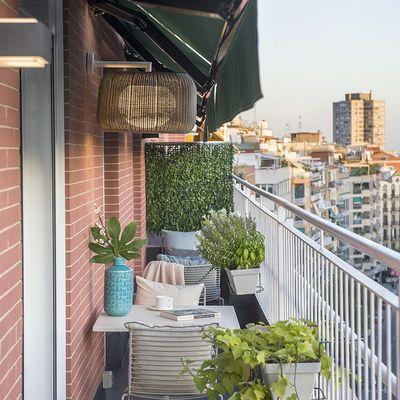Dime cuántos metros tiene tu terraza y te diré cómo decorarla
