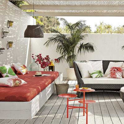 terraza tropical