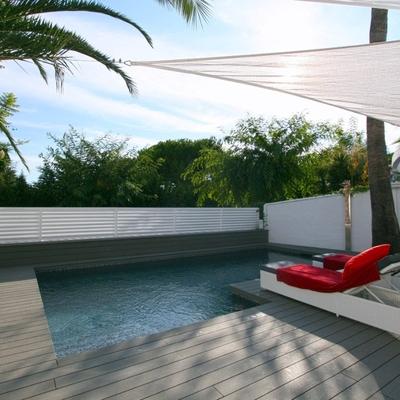 Proyecto de reforma de jardín con piscina