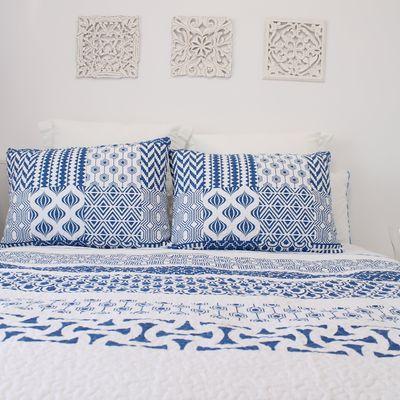 7 claves para tener un dormitorio mediterráneo todo el año