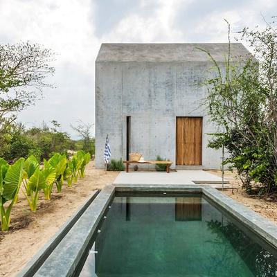 Una mini casa para las vacaciones perfectas