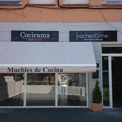 """Toldos Fachada Local Comercial """"Cocirama"""""""
