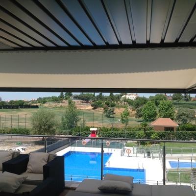 Ideas de toldo balc n para inspirarte habitissimo for Brazos para toldos balcon