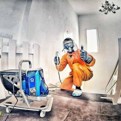 Ventajas innegables del sistema de pintura sin aire portátil Spray Direct