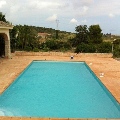 Proyecto de piscina y ajardinamiento