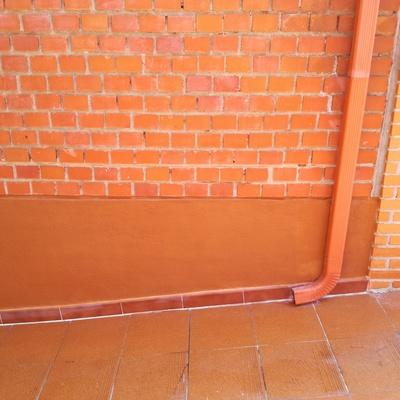 Mejora rampa de garaje