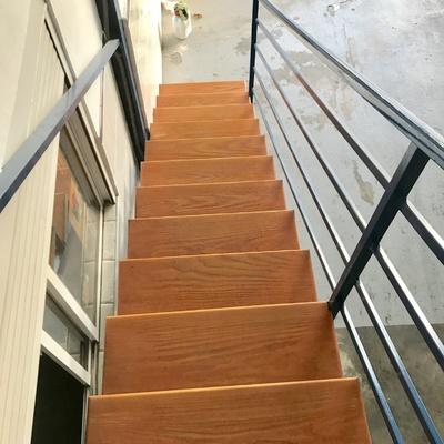 Restauración peldaños de madera
