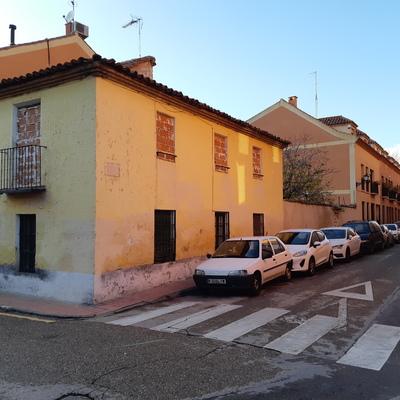 Derribo vivienda en centro de Alcalá de Henares