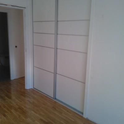 trabajos de reforma en vivienda- acuchillado de parquet y armarios