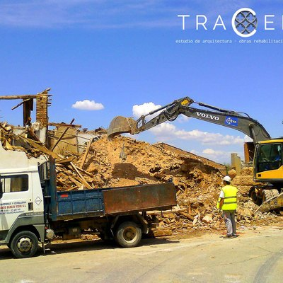 Proyecto y dirección de demolición de vivienda en Taracena (Guadalajara)