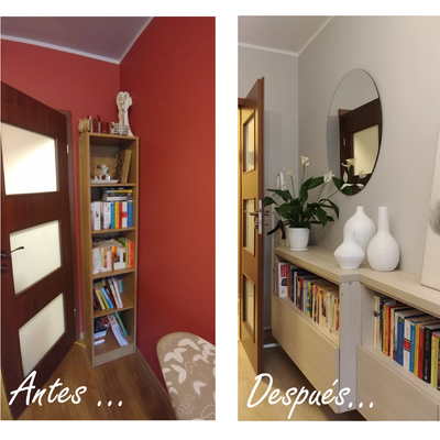 Proyecto de interiorismo on-line de dormitorio en Polonia