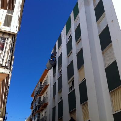 Tratamientos de fisuras en fachada