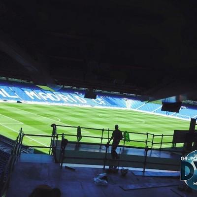 Santiago Bernabéu - Montaje DYH Multiservicios