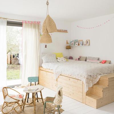 dormitorio retro