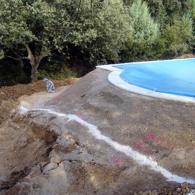 Una vez realizada la piscina