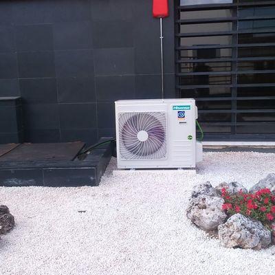 Climatización Sala Técnica - Equipo 1X1 Conductos