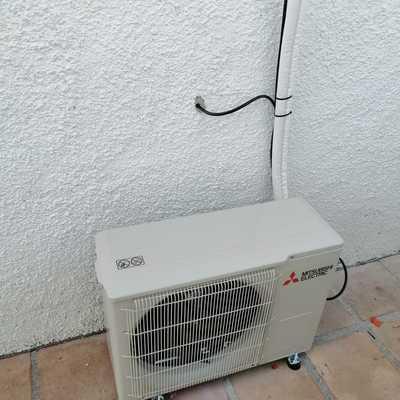 Instalación climatizaciòn en casa de 80 m2