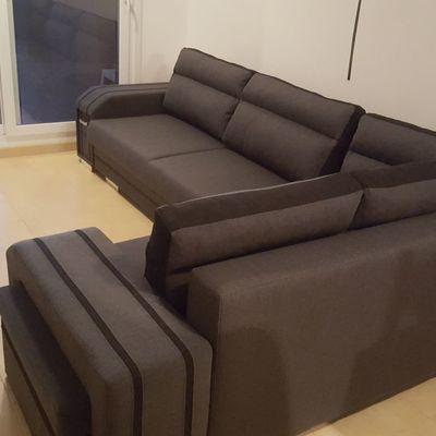 Venta, instalación de un sofá riconera en la región de Murcia