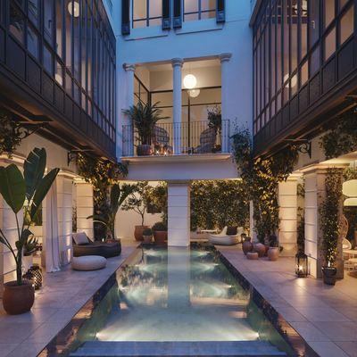 Un apartamento nórdico e histórico en el centro de Palma