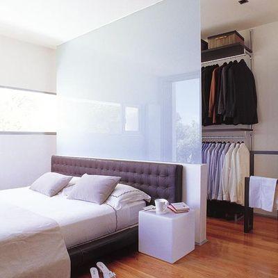 Cómo distribuir el dormitorio si quieres un vestidor