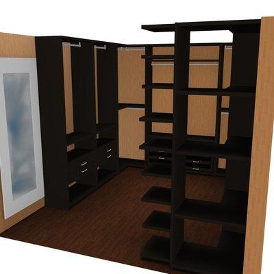 Proyecto 3D vestidor