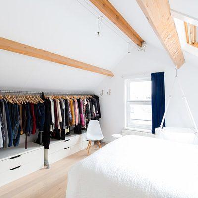 Cómo poner un vestidor cuando no tienes espacio