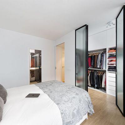 Soluciones para distribuir tu dormitorio e incluir un vestidor