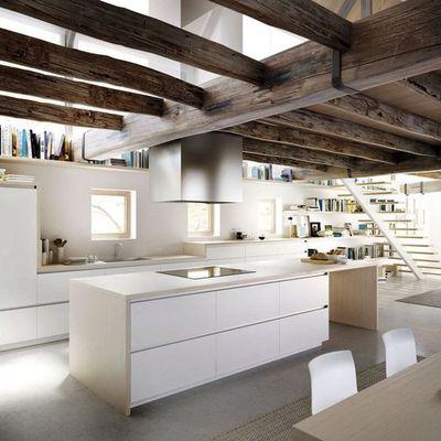 Ideas y fotos de vigas madera techo para inspirarte habitissimo - Vigas de madera malaga ...