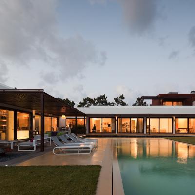 Villa con piscina en Lisbona