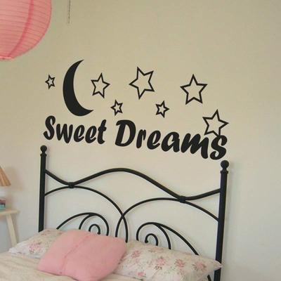 Vinilo cabecero infantil sweet dreams
