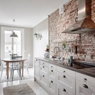 Un apartamento que combina el estilo industrial y vintage