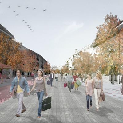Concurso peatonalización Torrelodones